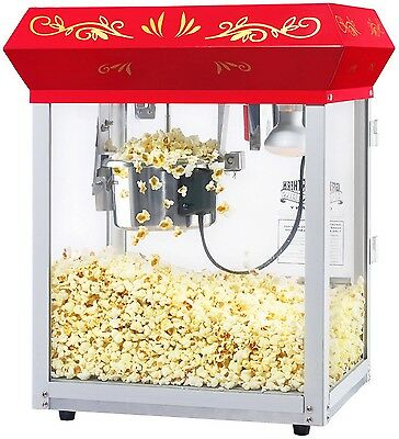 New Great Northern Theater Style Popcorn Popper Machine 4 oz Movie Events Games
