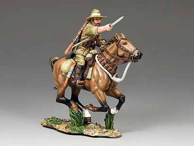 KING AND COUNTRY AUSTRALIAN LIGHT HORSE The Charger  AL39 AL039