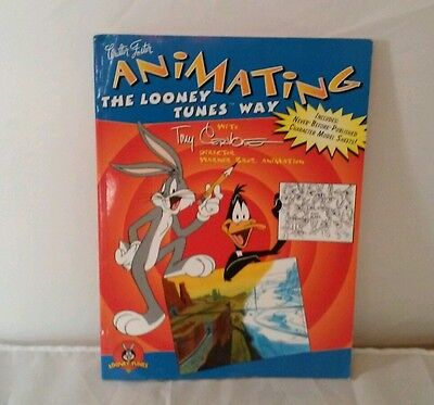 Warner Bros. Animating The Looney Tunes Way Drawing Book, By Tony Cervone