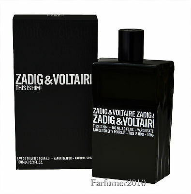 Zadig & Voltaire  This is him 100ml  Eau de Toilette EDT Neu & Originalverpackt