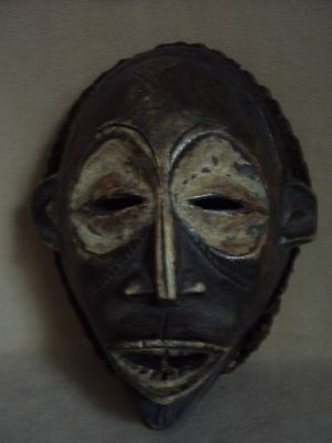 SALE - WAS $245  CHOKWE MASK African Carving Statue!!