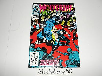 Wolverine #7 Comic Marvel 1989 Incredible Hulk Mr Fixit Chris Claremont Buscema