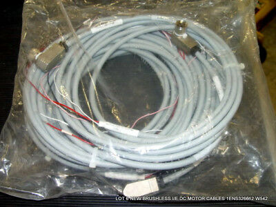 Lot 6 New Brushless I/e Dc Motor Cables 1Ens326612 W542 Free Shipping