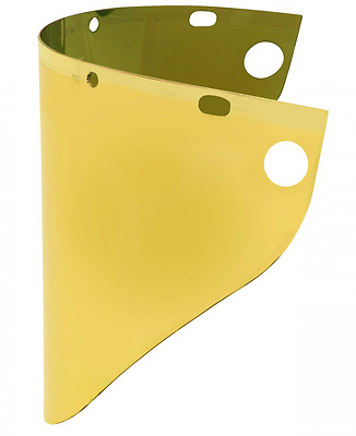 Honeywell Gold plated for High Heat Applications Face shield Window
