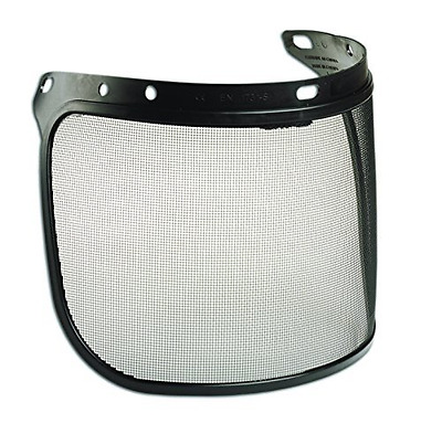 North by Honeywell FS01-H5 Black Metal Face shield Screen