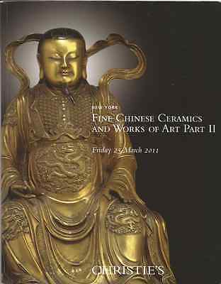 2011 New York Christie's Fine Chinese Ceramics and Works Auction Catalog