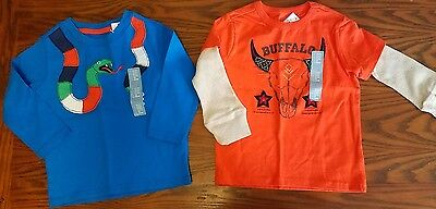 NWT Baby Gap 18-24 months long sleeve shirt lot of 2