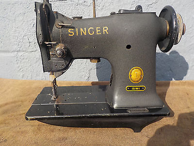 Industrial Sewing Machine Model Singer 151W1 walking foot,-Light Leather