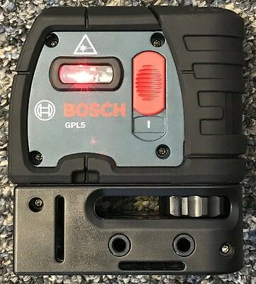 Bosch GPL 5 5‑Point Self‑Leveling Alignment Laser - EXCELLENT CONDITION!!!