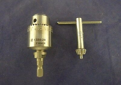 Zimmer Hall 1384-29 Jacobs Chuck w/ Key USED