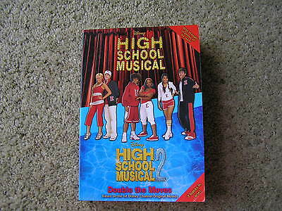 """*HIGH SCHOOL MUSICAL* Disney  (2 books in ONE)   """"AS NEW"""""""