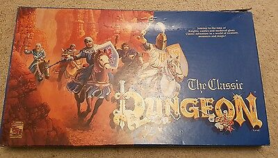 Scarce TSR The Classic Dungeon 1992 Fantasy Board Game