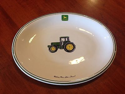John Deere Serving Dish Platter Collectable