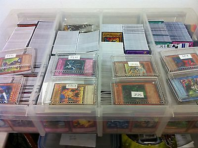 100 common Cards + 10 holos and rares RANDOM genuine YuGiOh! Konami Authentic