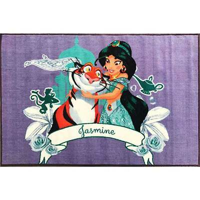 New Children's Rug Aladdin Princes Jasmine 100 x 150 Disney Princess Mat Floor