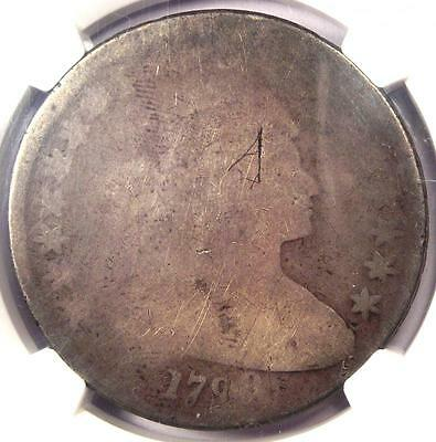 1798 Draped Bust Silver Dollar $1 - Certified NGC Fair Details - Rare Coin!