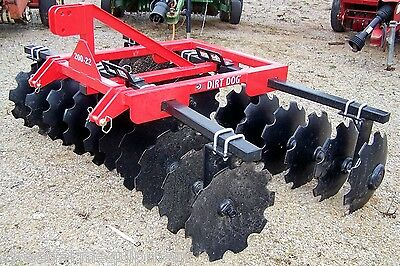 New Dirt Dog HD 8 ft. (3 point)  Disc Harrow --Can ship very inexpensive!!!