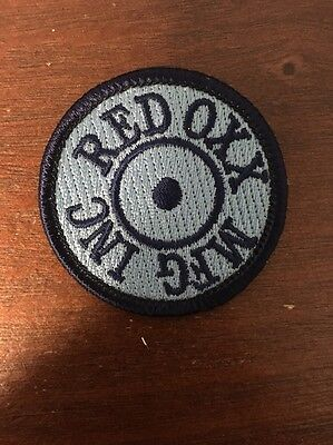 Red Oxx MFG Inc. Blue Patch