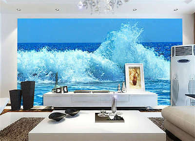 Wind Wave Horizon Water Full Wall Mural Photo Wallpaper Print Kids Home 3D Decal