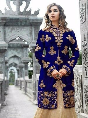 EID Salwar Kameez Indian bollywood wedding women wear lengha sharara suit 245-31