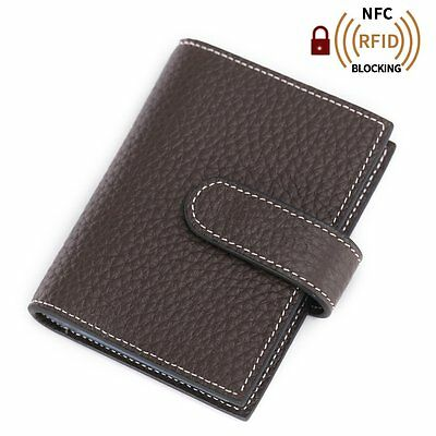 OpenBox Teemzone Womens Leather Business Credit Id Card Case Name Card Holder
