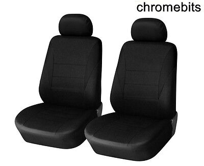H 2 x Fronts Citroen C4 Picasso Duty Black Waterproof Seat Cover//Protectors