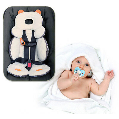 Total Head & Body Support Baby Infant Soft Pram Stroller Car Seat Cushion New