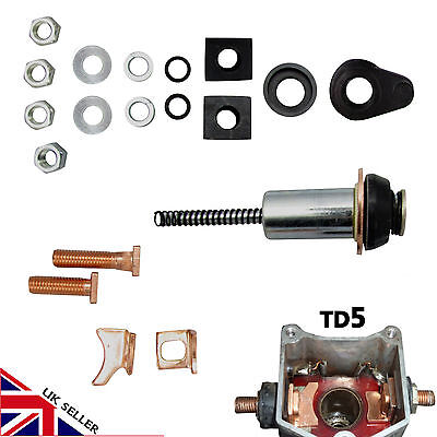 Land Rover Discovery Defender Td5 2.5 Starter Motor Repair Fix Denso Solenoid
