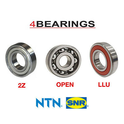 NTN Bearing 6000 - 6312 Series - Open - 2RS - ZZ - C3 - CN - *Choose your size*