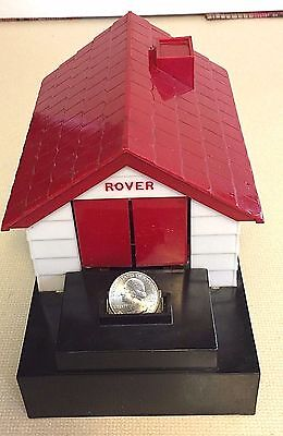 Vintage Rover Dog Mechanical Battery Operated Coin Bank