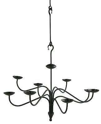 Wrought Iron Chandelier / Hanging Candle Holder