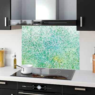 Kitchen Splashback Tempered Heat Resistant Glass Sea Water 50230340 90x65cm