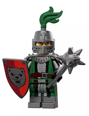 LEGO minifigure Series 15 Frightening Knight - New - Complete