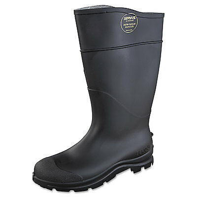 Servus CT Safety Knee Boot with Steel Toe Black Pair 188219