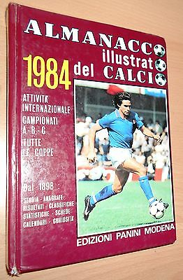 Ed. Panini Vol. Cartonato Almanacco Illustrato Del Calcio 1984  Originale  !!!!