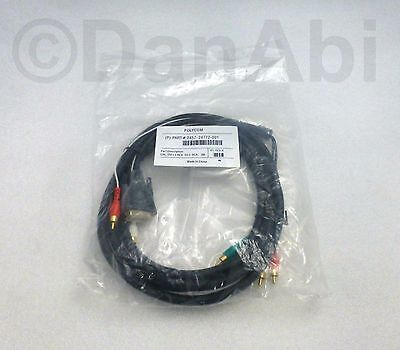 New Polycom Video HDX Main Monitor Cable 3m 2457-24772-001 Incl Vat/Delivery