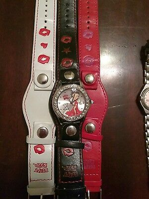 Lot of Two Betty Boop watches