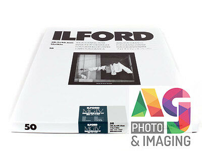 "ILFORD MGIV RC 12x16"" 50 Sheets PEARL Multigrade FRESH STOCK Darkroom paper"