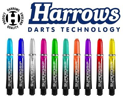 Harrows Schaft - Supergrip Shaft Fusion short tweenie medium 1er 3er versch Dart