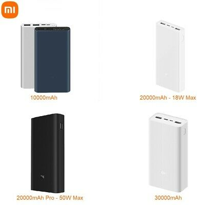 ORIGINAL Xiaomi Power Bank Universal External Portable Charger USB Battery Pack