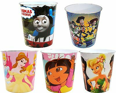 Childrens Character Plastic Waste Bins