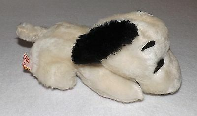 Vintage Butterfly Originals 1968 Snoopy Bean Bag Plush Toy 8""
