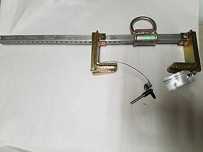 """Guardian Fall Protection Beam Anchor BMR-18 Adjustable 6"""" to 18"""""""