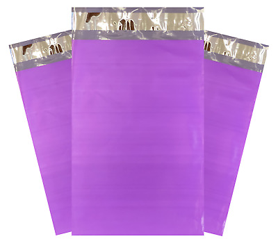 """1-1000 10x13 Purple Color Designer Poly Mailer Shipping Self Seal Bags 10"""" x 13"""""""