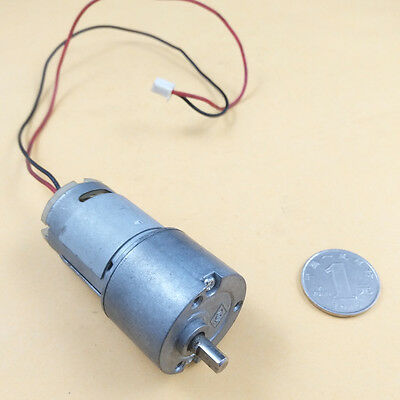 1PCS Used DC3-15V Large Torque Gear Motor Metal Gear Reducer Motor for Arduino