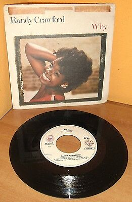 Randy Crawford - Why - (1983) - (45 Giri - 7 Pollici) - (Warner Bros) - Vinile