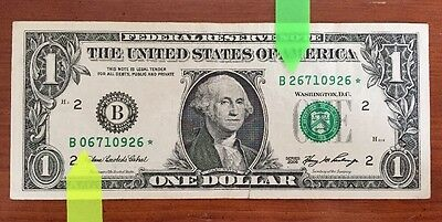 2006 $1 error note: MISMATCHED SERIAL #s on STAR note (0926*)