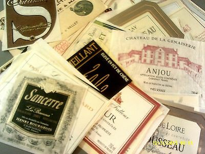 210 labels from the LOIRE AOCs Lot C-10 (see list)