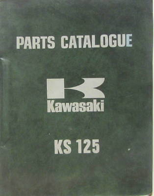 1973 Kawasaki  Ks 125  Parts  Catalogue En Anglais