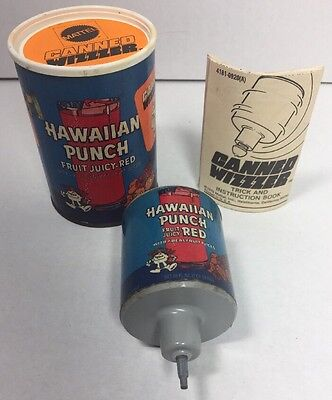 Rare! Vintage Mattel Hawaiian Punch Advertising Top Toy 1970 Canned Wizzzer